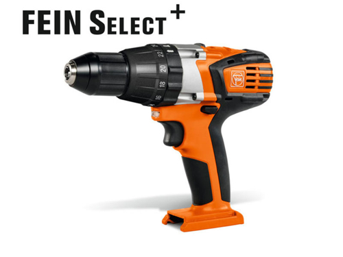 2-speed cordless hammer drill/driver  Fein ASB 18 select