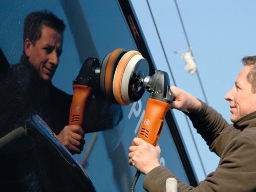 Boat polisher set WPO 14-15 E