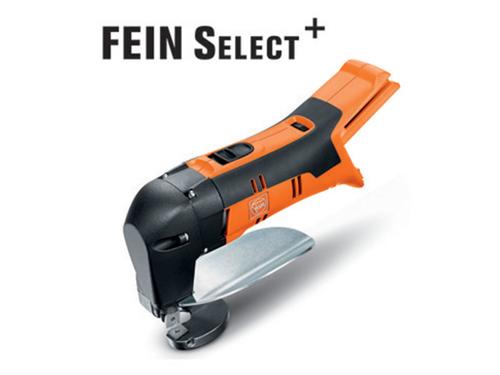 Cordless sheet metal shears Fein ABLS 18 1.6 E Select