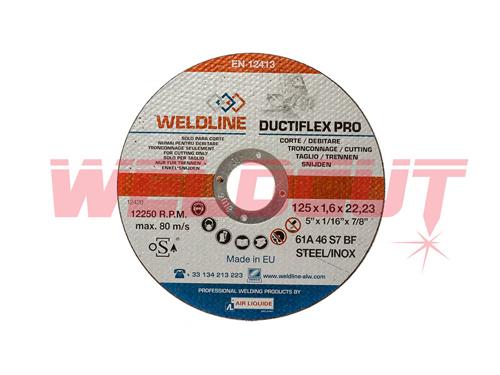 Cutting disc Ductiflex Pro Inox 125mm x 1.6mm