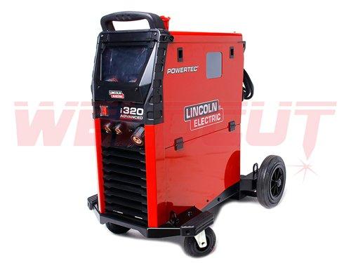 Semi Automatic Welding Machine Lincoln Electric Powertec I320c Advanced Welders Mig Welders Sklep Spawalniczy Weldcut Pl