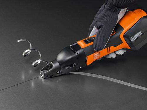 Akumulatorowe nożyce szczelinowe Fein ABSS 18 1.6 E Select