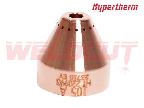 Osłona dyszy maszynowa 105A Hypertherm 220993
